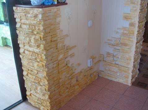 Декоративная плитка под камень для наружной отделки