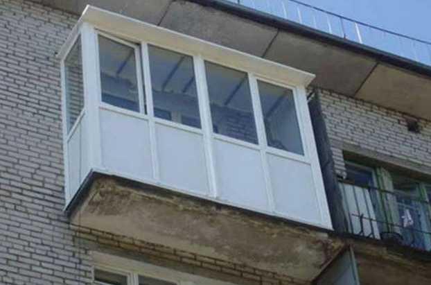 Как сделать крышу на балконе последнего этажа.